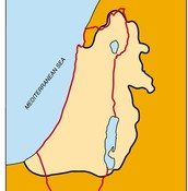 The Area Conquered under the Maccabeus Family