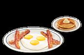 Los Huevos con el tocino