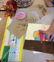 Fall Still Life by Third Grade