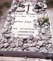 Schindler's gravesite in Israel.