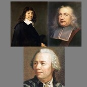 Descartes and Fermat along with Euler