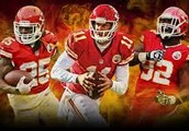 the chiefs dt, qb and rb.