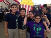 4th Grade National Elementary Honor Society Gators