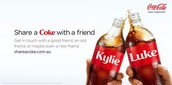 The known share a coke with a friend