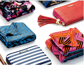 Scarves and Tech Wallets