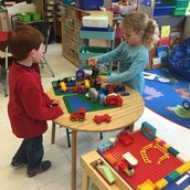 Building has been a big focus lately - totally child-driven and so interesting!