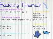 All types of Trinomial Factoring