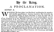 The Proclamation Acts of 1763