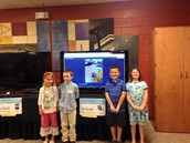 First Graders Present at Showcase