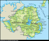 Northern Ireland (Physical and Political)