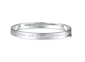 Inspiration Bangle Blessed Silver