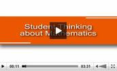 Student Thinking about Mathematics
