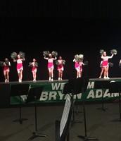 Hill Cheerleaders Performed