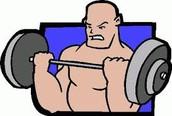 Debes practicar muchos ejercicio.