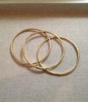 Rhea Bangles in Gold $39.50