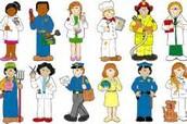 Community Helper Job Fair Day-March 29th