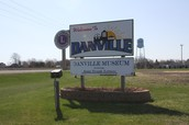 Danville's sign