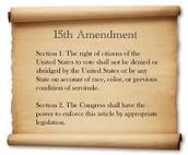 The 15th Amendment
