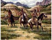 Badlands Native americans