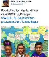 Food Drive Success