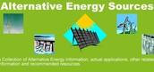 Solar, Wind, Hydroeletric, Geothermal, Biofuel