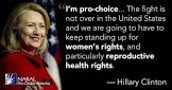 Clinton on abortion