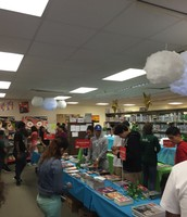 Classes Shopping the Book Fair
