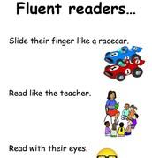 Fluent readers...
