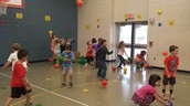 Lone Star Students Have a Ball in PE!