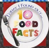 Fav 10 Food Facts!