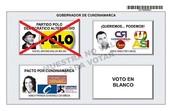 Marque POLO a la Gobernación con  Rafael Ballén # 1