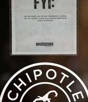 A shut down Chipotle