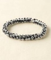 Vintage Twist Bracelet - Silver