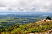 Cadillac Mountain on the Top