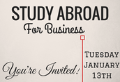 Study Abroad for Business