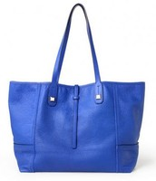Paris Market Leather Tote