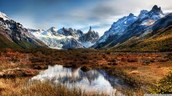 What kind of land forms does Argentina have?