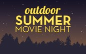 Outdoor Movie in the Forest!