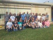 40 volunteers from Elliott, Robinson & Co., LLP did some landscaping on Thursday!