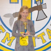 Anna Casey, Spelling Bee Winner