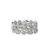Stackable deco rings £40