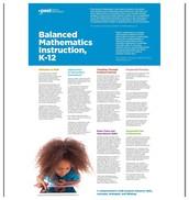 Balanced Mathematics Instruction, K-12