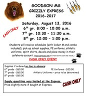 Goodson Grizzly Express