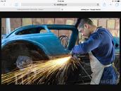 welding cars