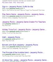 Step 1 - Google: Jeopardy Rocks