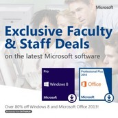 Microsoft Software for EVSC Staff Home Use Now Available At Reduced Pricing