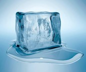 Melting a ice cube