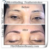 Natural Microstroking for Eyebrows
