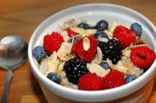 Hot Cereal with Berries and Nuts!