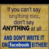 Think before you speak or write.